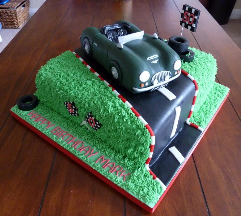 BMW And AUSTIN HEALEY CAKES