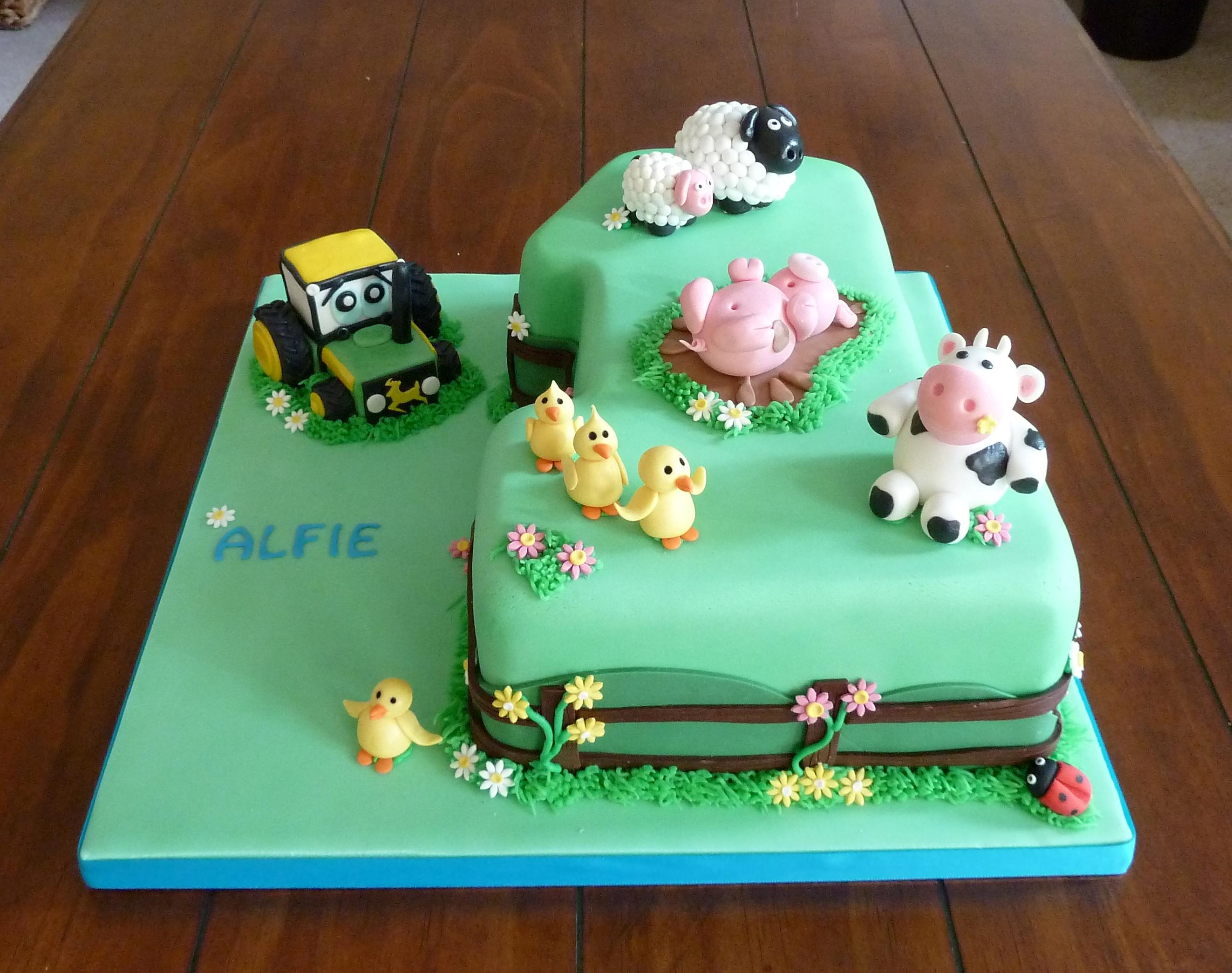Birthday Cakes Snow White Children
